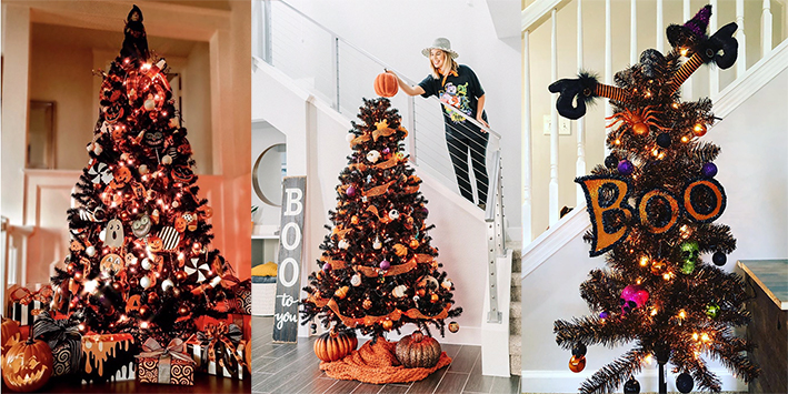 Move over Kerstboom; een Halloween-boom is dé nieuwe trend!