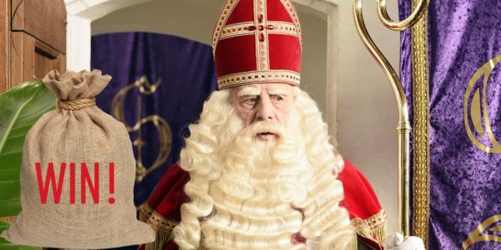 100%NL Magazine brief van Sinterklaas