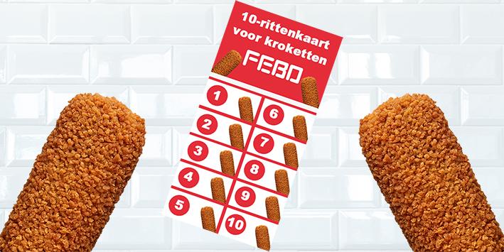 NATIONALE KROKETTENDAG: Win een 10-strippenkaart van de FEBO!