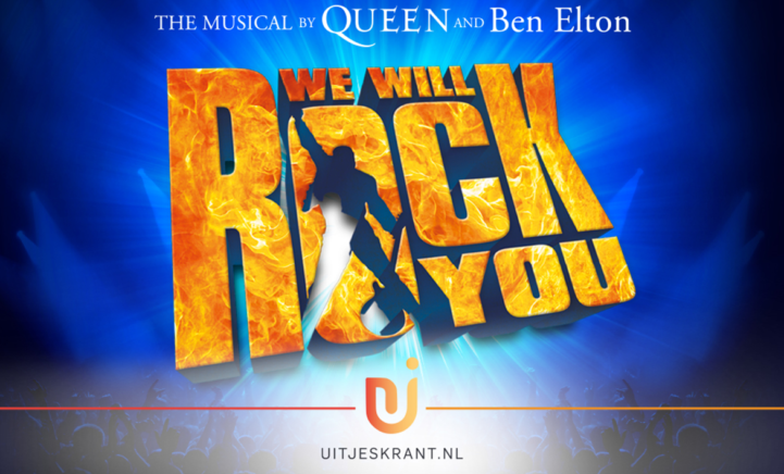 GRIJP JE KANS: Musical 'We Will Rock You' komt naar Nederland!