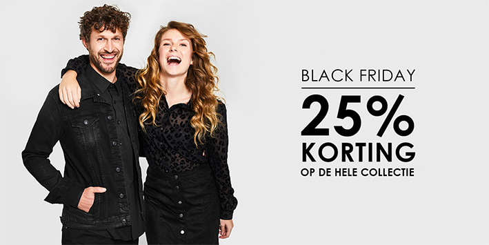 De hele week genieten van Black Friday deals bij Jeans Centre!