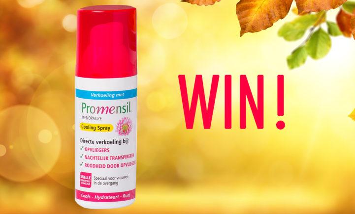 WIN: Promensil Coolingspray, helpt je bij opvliegers!