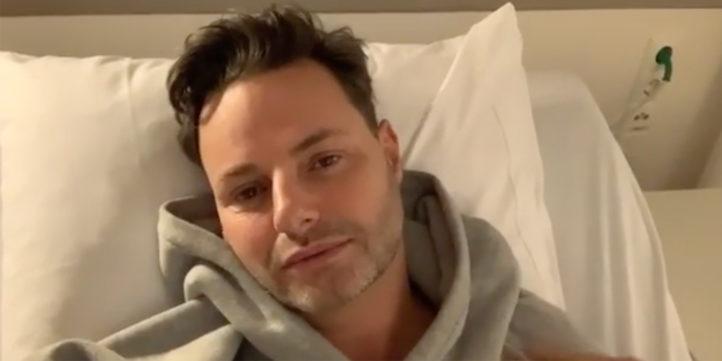 OH NEE: Fred van Leer opnieuw in het ziekenhuis