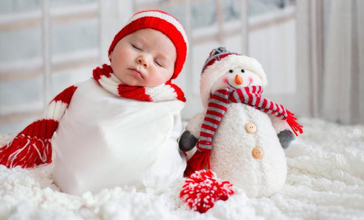 AAWH: Dít zijn de leukste namen voor kerstbaby's!