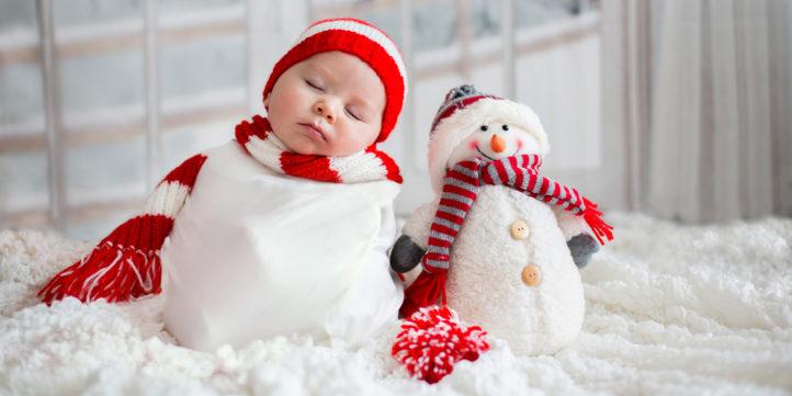100%NL Magazine kerstbaby