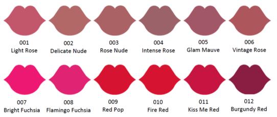 100%NL Magazine lipstick