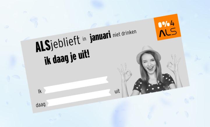 Win een cadeaubon en daag je vrienden uit voor een alcoholvrij januari!