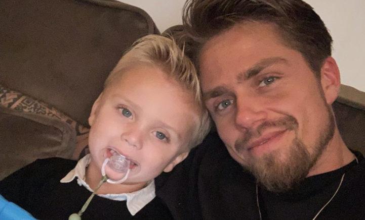 ZIEN: André Hazes beleeft perfecte dag met zijn zoontje