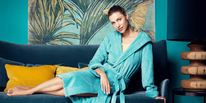 Met déze bijzonder mooie badjassen is opstaan elke dag een feestje!