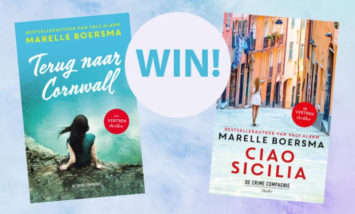 WIN: Maak kans op een spannende thriller van Marelle Boersma!