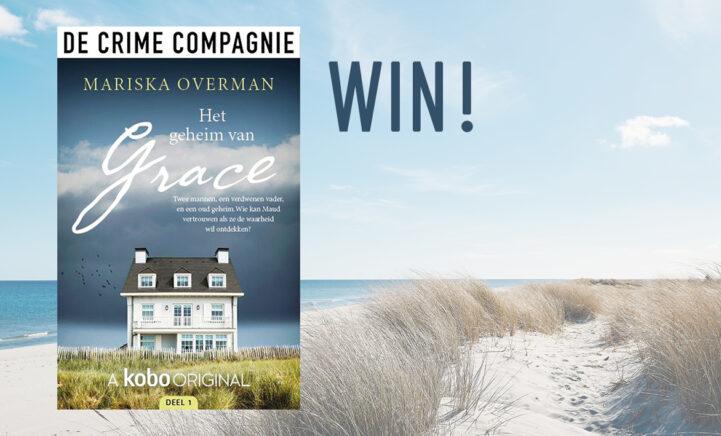 WIN: boek het spannende boek 'Het geheim van Grace'!