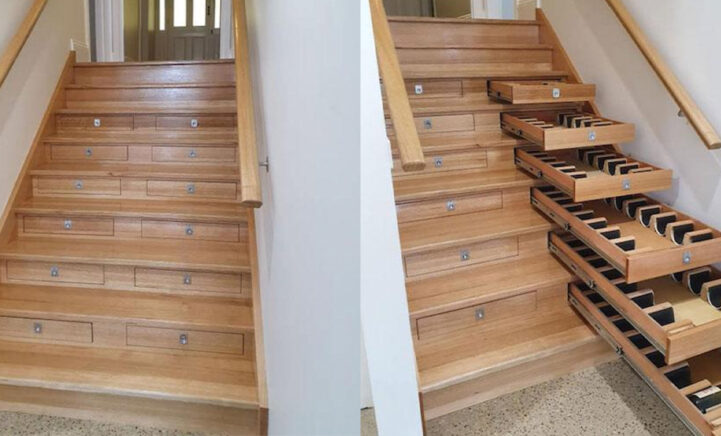 Weg met die verveling: verbouw je trap tot wijntrap!