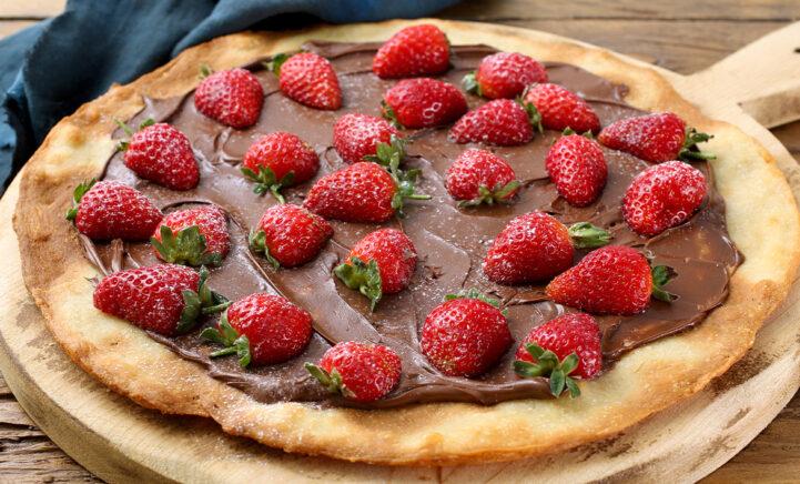 TE LEKKER: Zo maak je een Tony Chocolonely Pizza!