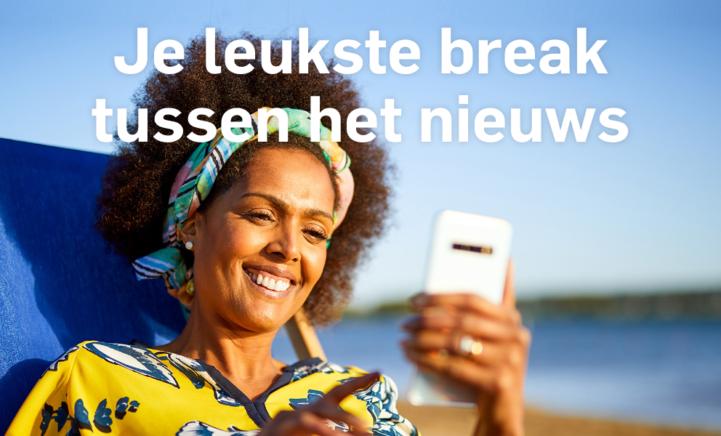 Toe aan een break? Speel gratis in de AD app!