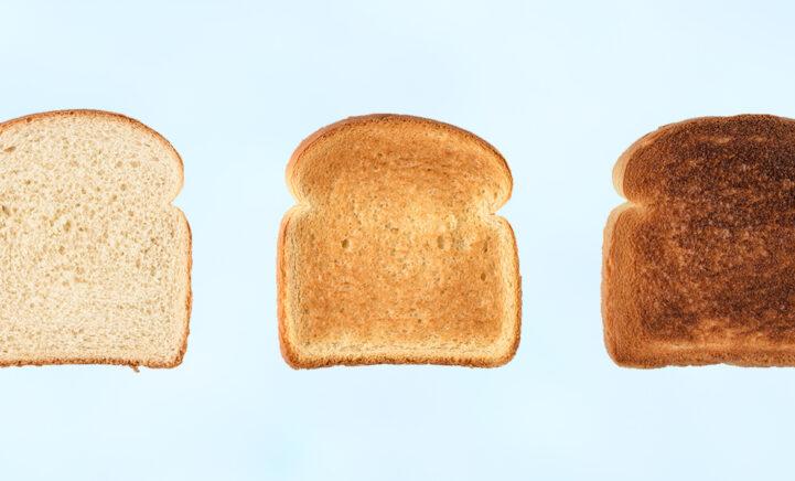 Feit of fabel: Geroosterd brood is gezonder dan een normale boterham