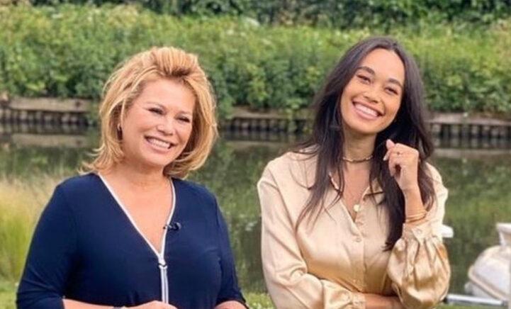 Antje Monteiro apetrots op jarige dochter Romy 'Gefeliciteerd allerliefste'