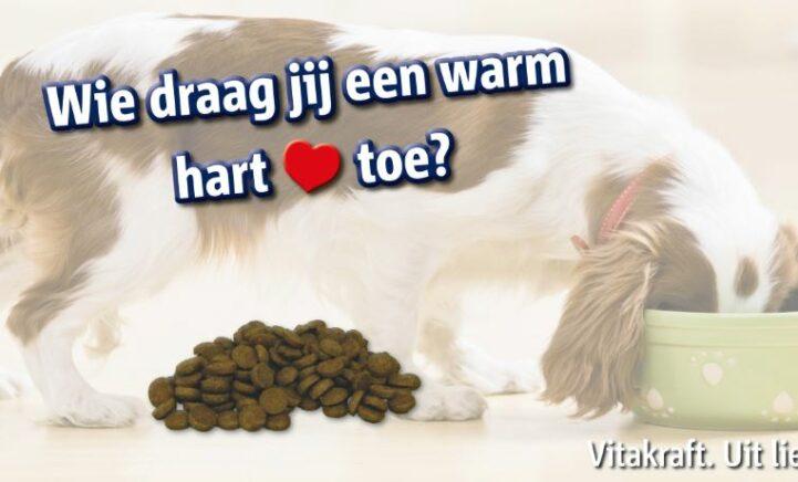 Vitakraft helpt hondenorganisaties in Benelux met 20.000 kg hondenvoeding!