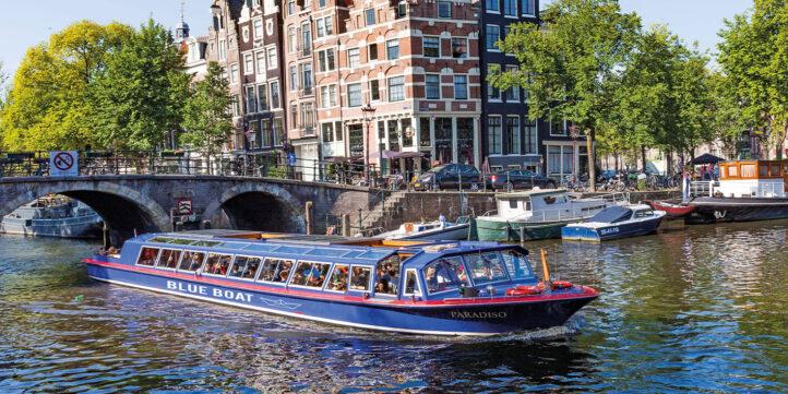 KORTING: Ontdek het prachtige Amsterdam vanaf het water!