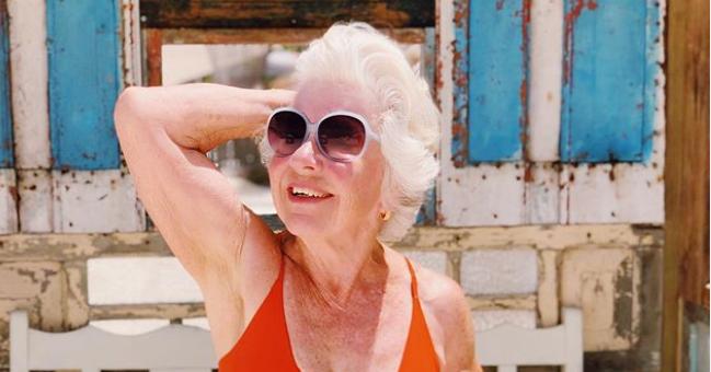Senior fitgirl Joan (74) steelt de show op Instagram als influencer!