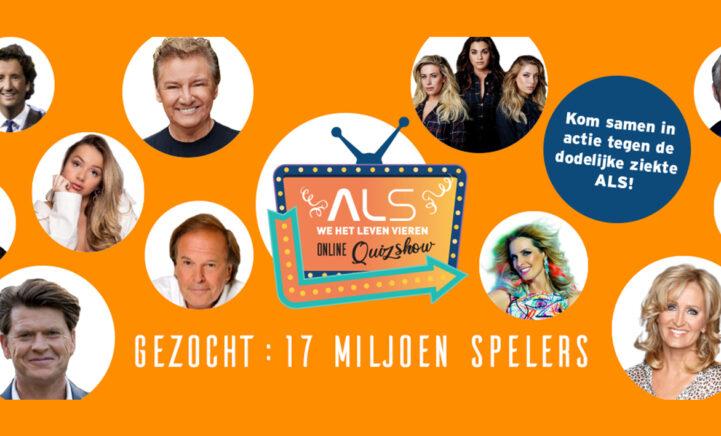 Doe mee met de online quizshow 'ALS we het leven vieren'
