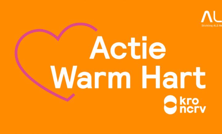 Actie Warm Hart: stem op Stichting ALS!