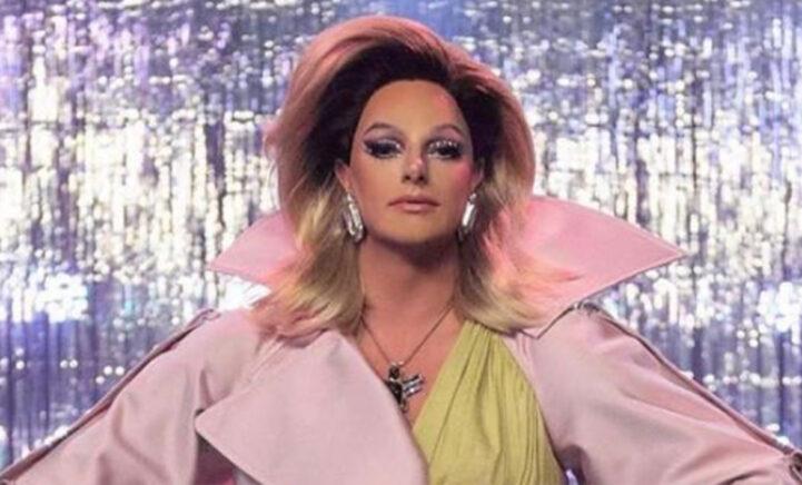 DRAGTASTISCH: Fred van Leer deelt hilarische throwback als dragqueen