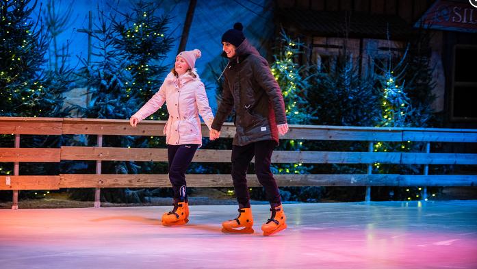 Winters uitje: schaatsen, warme choco, attracties en vooral héél véél lol!