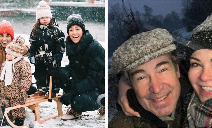 FOTO'S: BN'ers vermaakten zich massaal in de sneeuw afgelopen weekend!