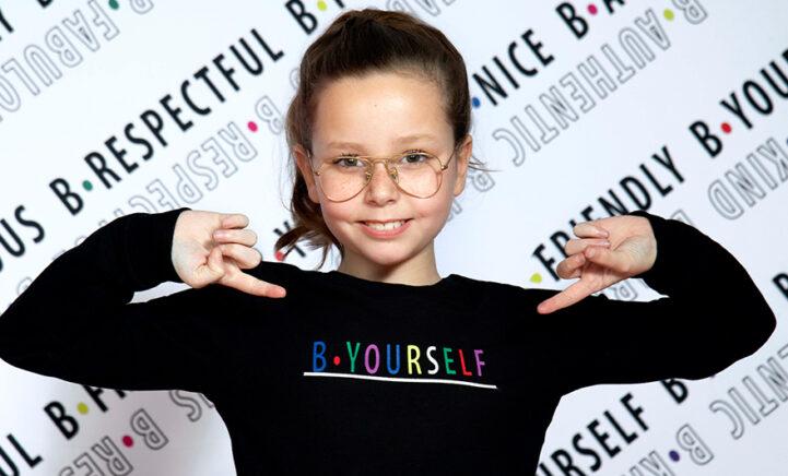 MOOI: Gepeste Suze (9) lanceert prachtige kindercollectie B.Yourself!
