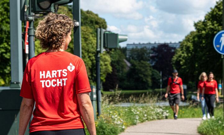 Wandel mee met de Hartstocht voor een hartgezonder Nederland