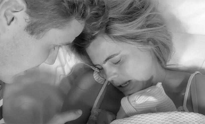 WAUW: Kim Kötter deelt prachtige geboortevideo van zoontje Ted