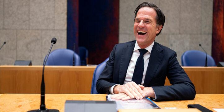 100%NL Magazine Mark Rutte foto ANP