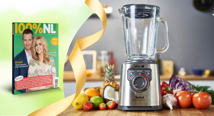 WIN: de Perfectmix high speed blender van Tefal!