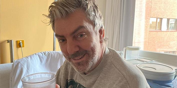 Goed nieuws: Ruud de Wild ontslagen uit het ziekenhuis