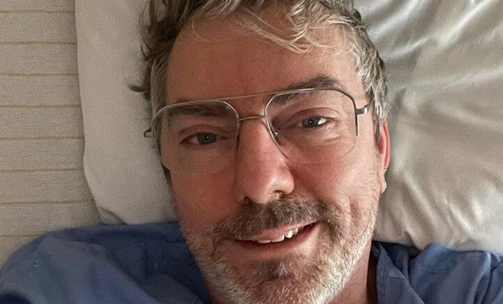 Ruud de Wild na heftige bloeding opnieuw in het ziekenhuis