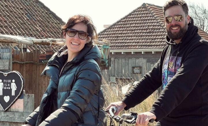 FOTO'S: Nick en Kirsten beleven bijzonder weekend op Terschelling