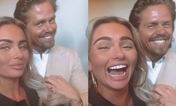 André en Sarah voor het eerst samen op Instagram na bevestigen relatie