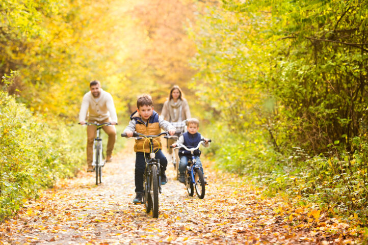 Wandelen of fietsen in het natuurpark: hoe doen we dat met hoge nood?