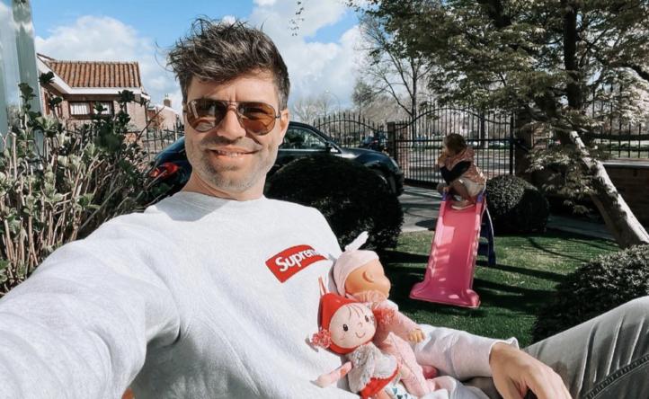 Simon Keizer geniet van quality time met dochter Kiki