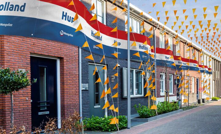 Je kunt vanaf vandaag sparen voor de langste EK vlag van Nederland!