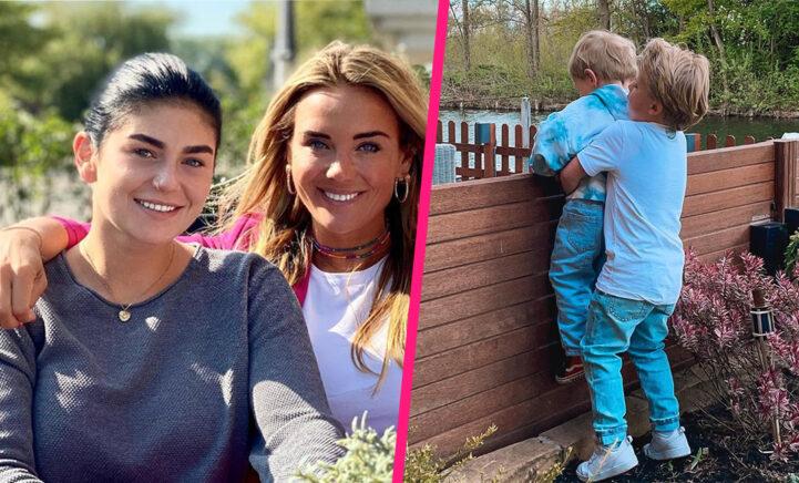 Ex-schoonzussen Monique en Roxeanne genieten van 'heerlijke dag' samen