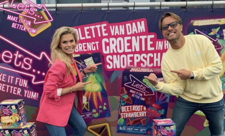 100%NL Magazine Nicolette van Dam groentesnoepjes