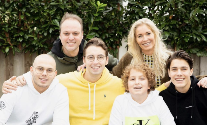 100%NL Magazine Frans Bauer gezin