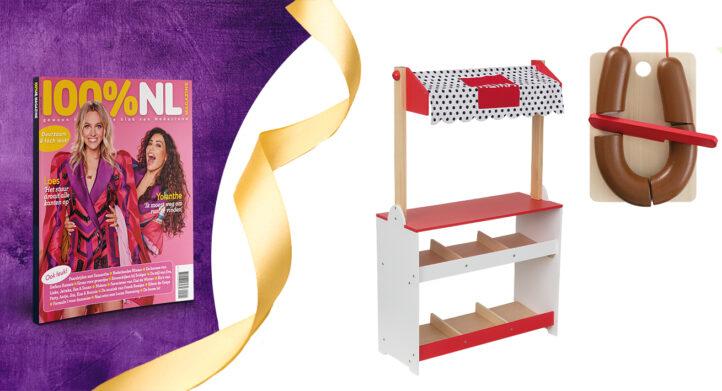 WIN: Een houten speelgoed winkeltje en rookworst van Hema!