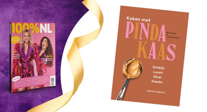 WIN: Het kookboek 'Koken met Pindakaas'!