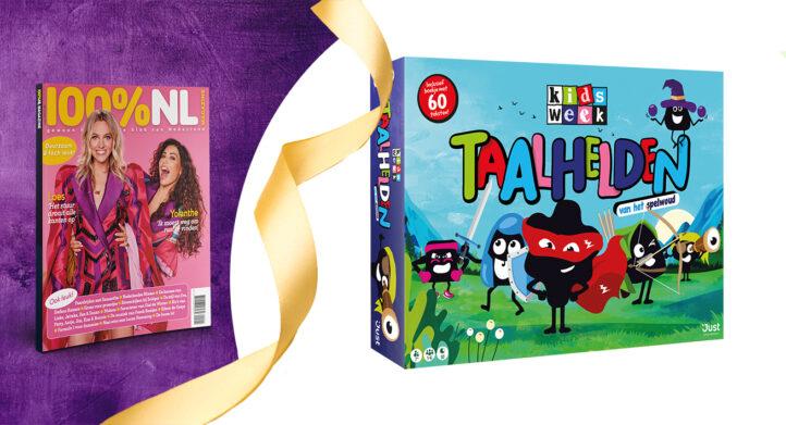 WIN: Het leerzaamste spel voor kinderen 'Taalhelden van het spelwoud'!