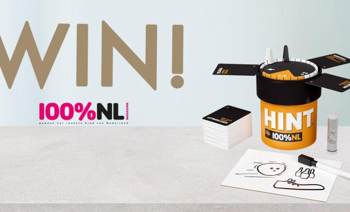 100%NL Magazine winactie spel hint